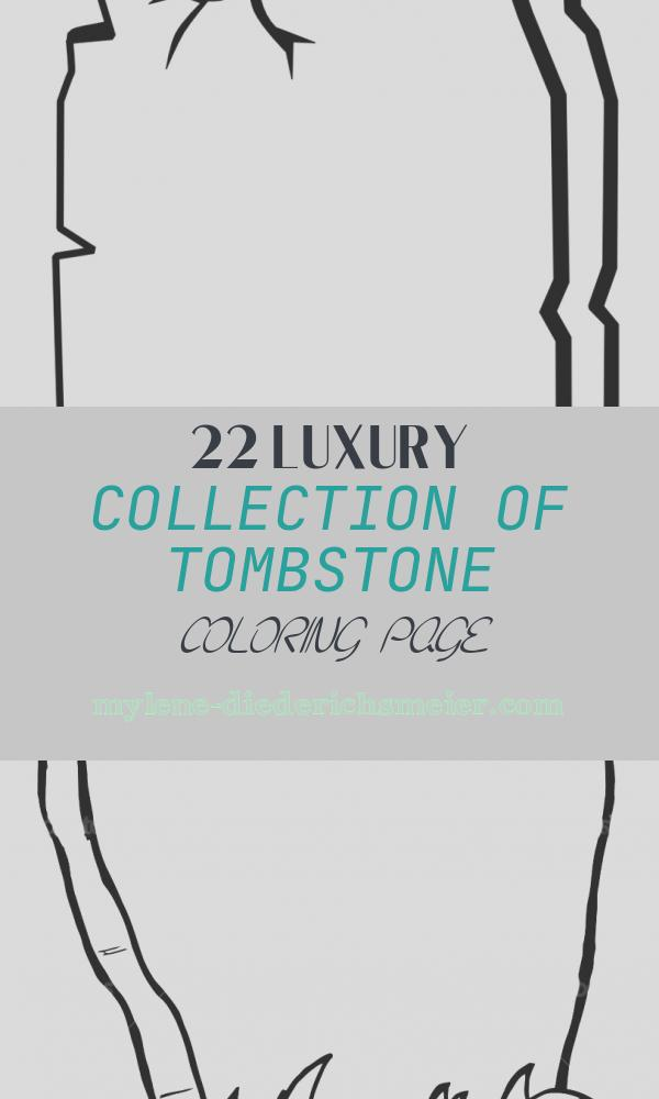 Tombstone Coloring Page Awesome tombstone Coloring Page Clipart Best