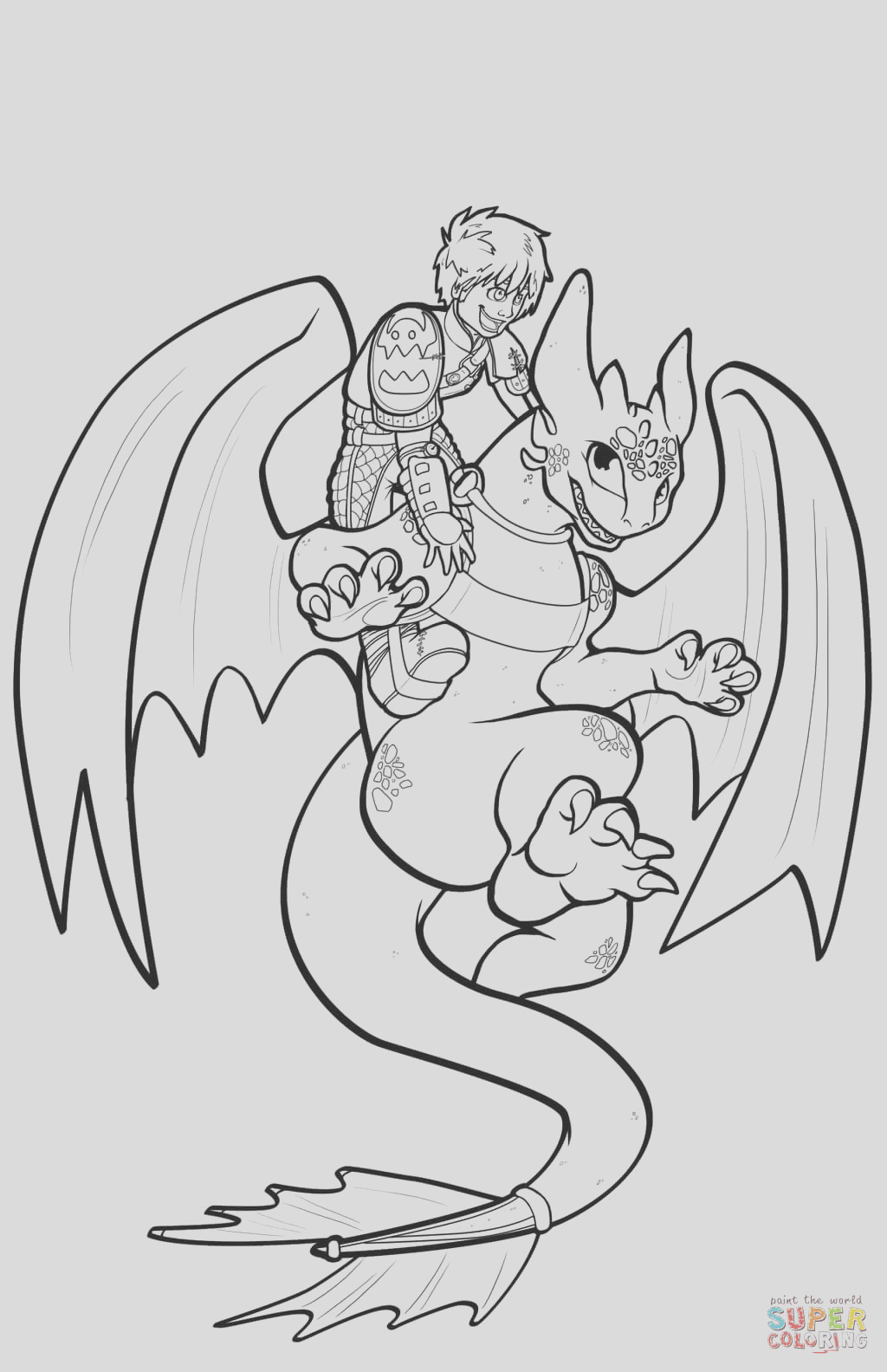 toothless sketch templates