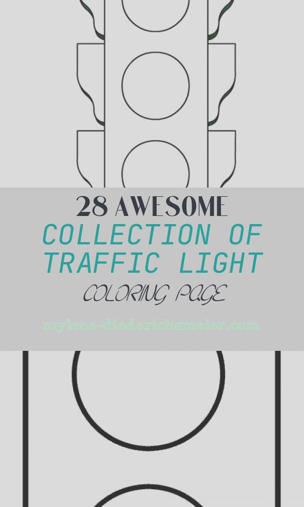 Traffic Light Coloring Page Luxury Traffic Light Worksheets Funnycrafts within Traffic Light