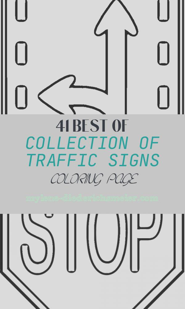 Traffic Signs Coloring Page Awesome Safety Signs Coloring Pages Gallery