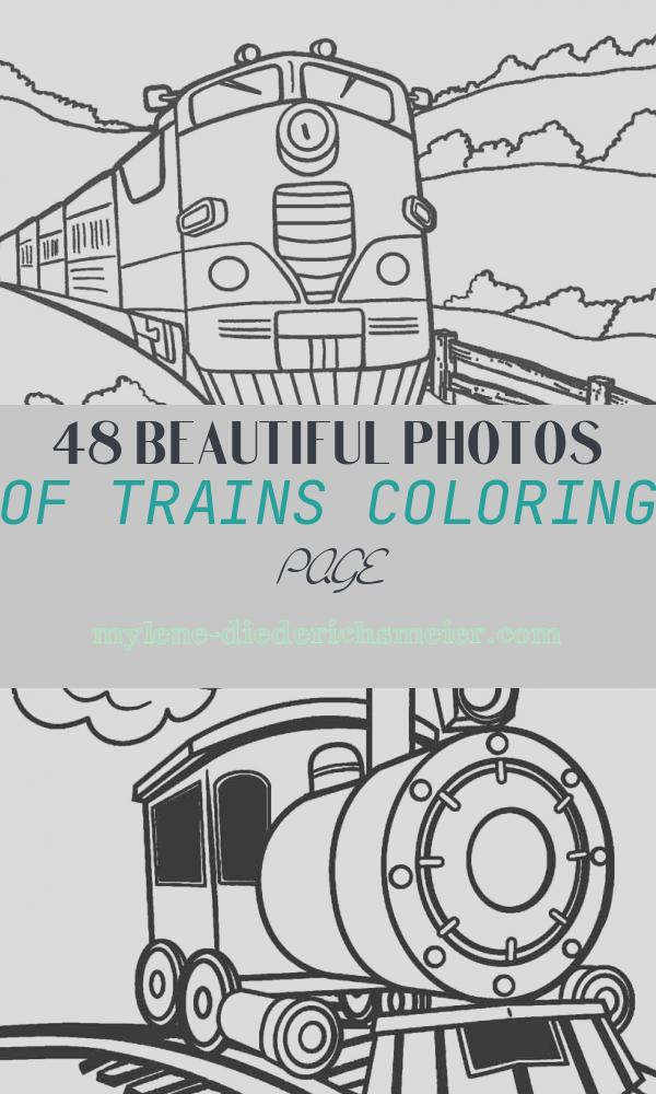 Trains Coloring Page Beautiful Free Printable Train Coloring Pages for Kids