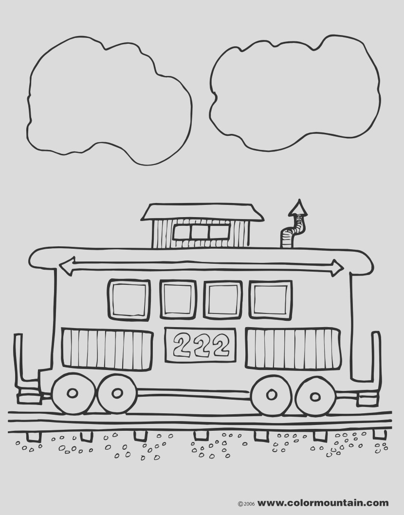 free clipart caboose clipart