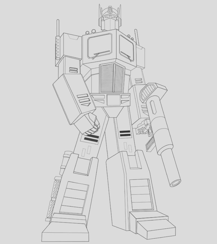 popular transformers coloring pages your toddler will love