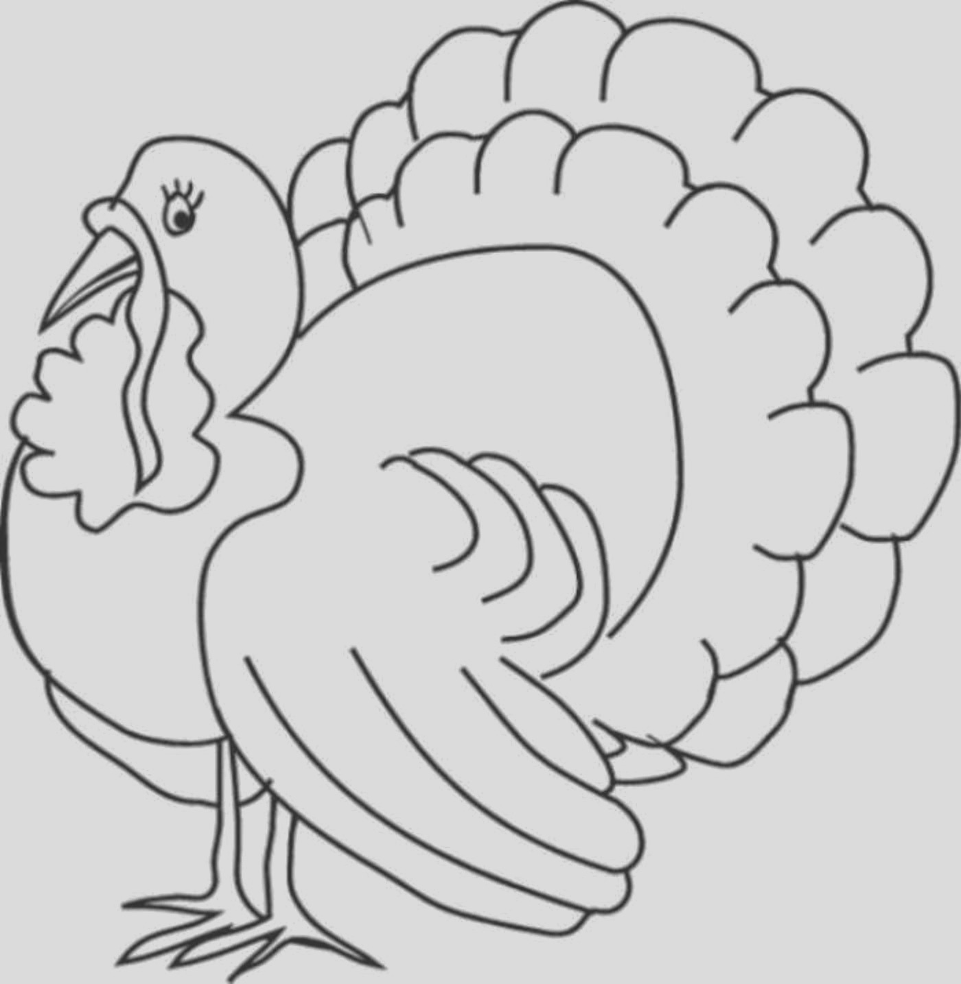printable thanksgiving coloring page