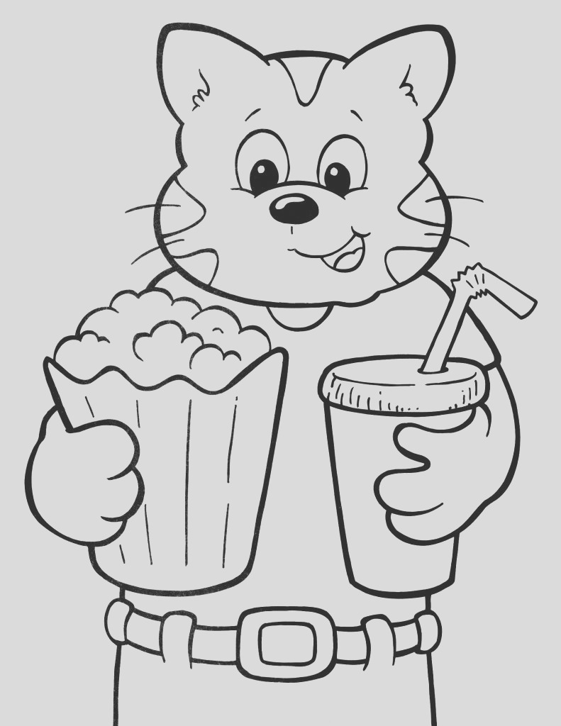 turn photo into coloring page