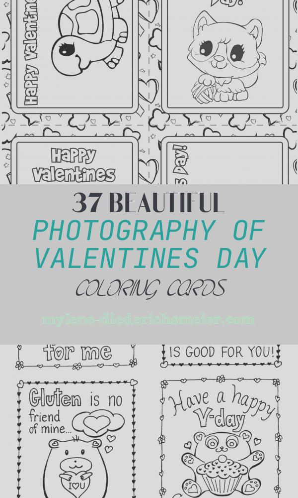 Valentines Day Coloring Cards Best Of Free Printable Valentines Bw