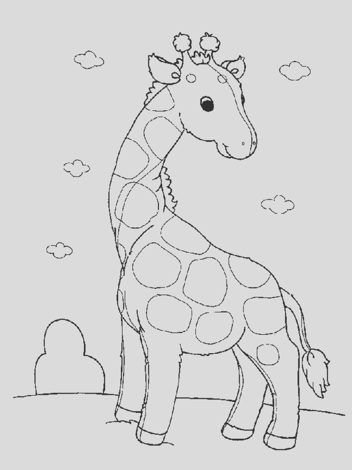 animal coloring pages 7 2