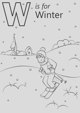 w is for winter