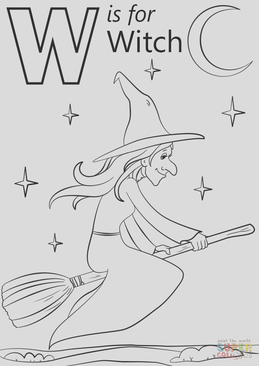 w is for witch