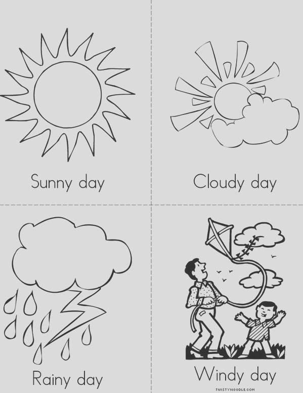 how is the weather today 2 minibook