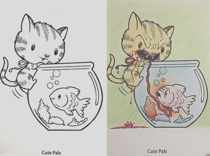 why coloring books definitely are not for adults 27 pics