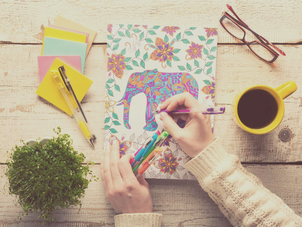 adult colouring books benefits