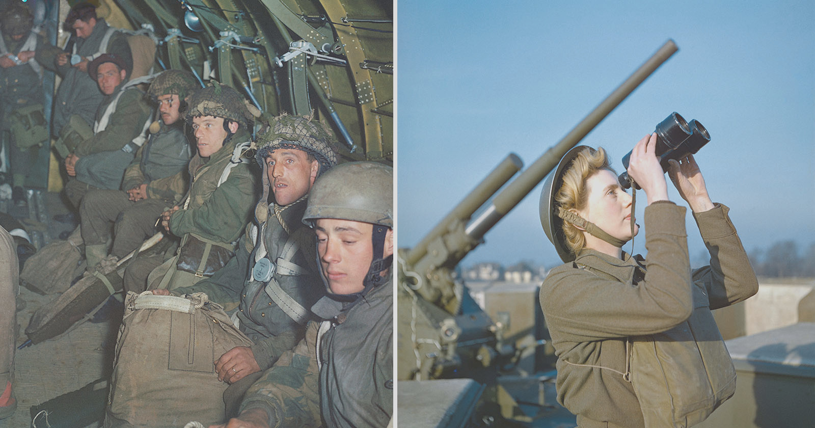 rare color photos world war ii