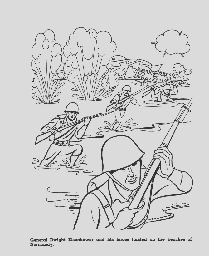 world war 2 coloring pages maps