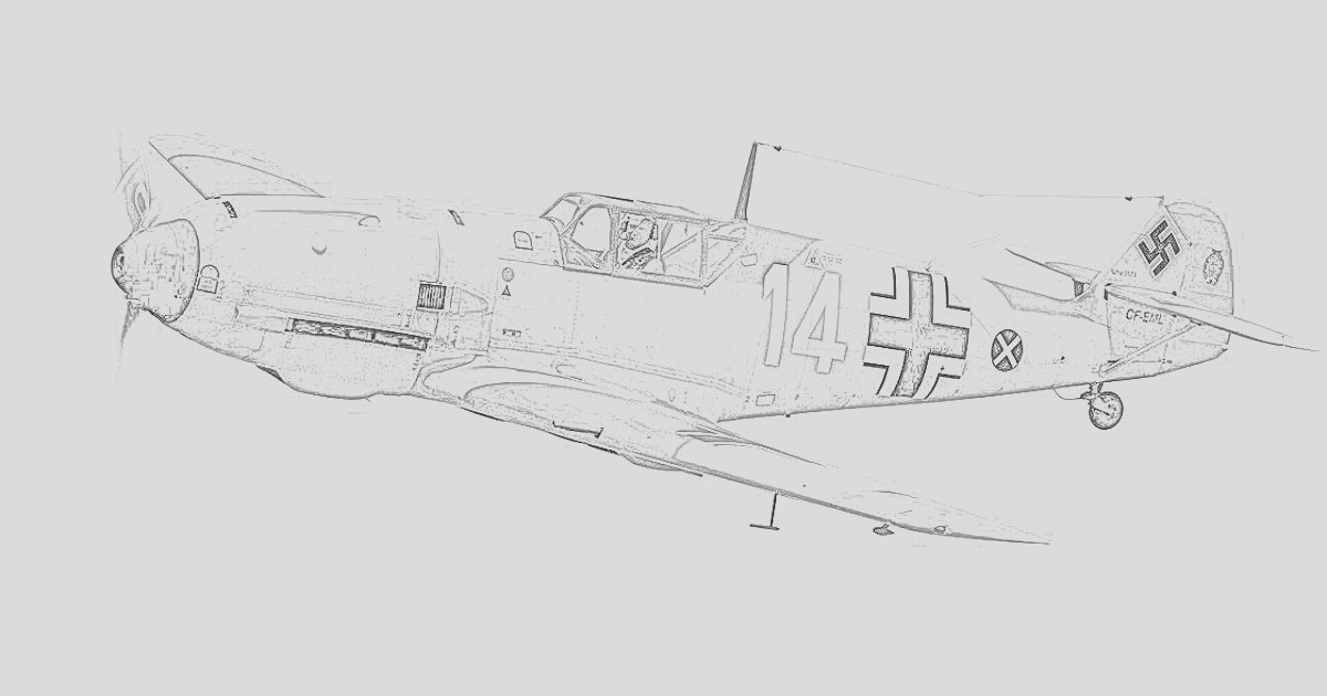 fighter coloring pages world war ii