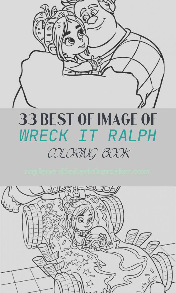 Wreck It Ralph Coloring Book Inspirational Ralph and Vanellope Coloring Pages for Kids Printable