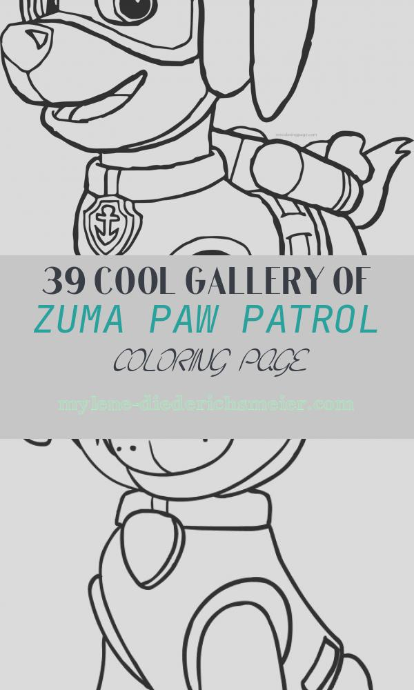 Zuma Paw Patrol Coloring Page Fresh Paw Patrol Coloring Pages