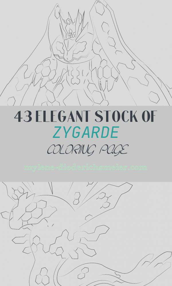 Zygarde Coloring Page Awesome Zygarde In 100 Percent form Coloring Page