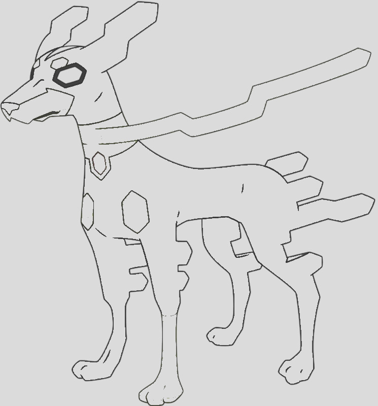 pokemon zygarde form coloring pages sketch templates
