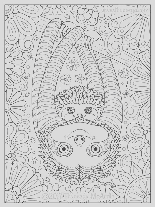 delightful animal families coloring book