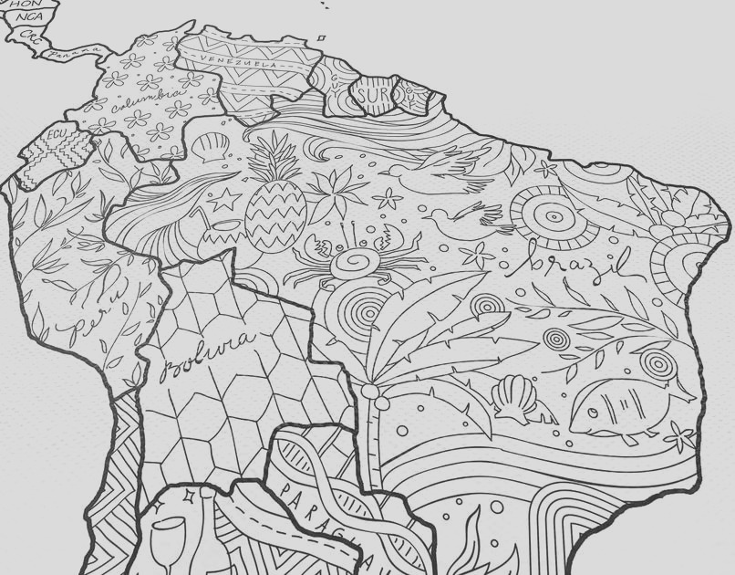 adult coloring map xxl canvas