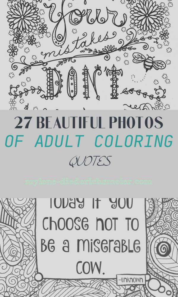 Adult Coloring Quotes Elegant Quote Coloring Pages for Adults and Teens Best Coloring