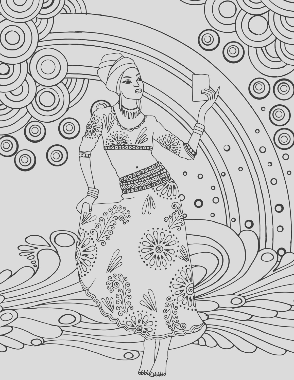 gemstone coloring pages