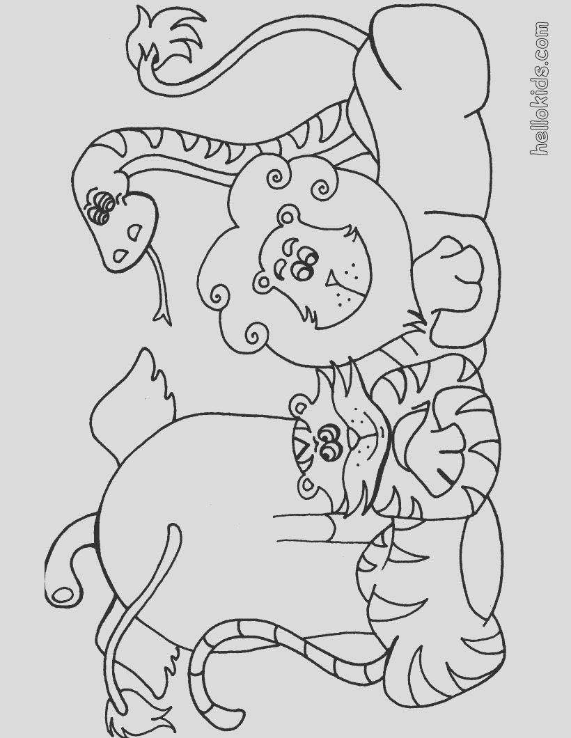 free african animal coloring pages