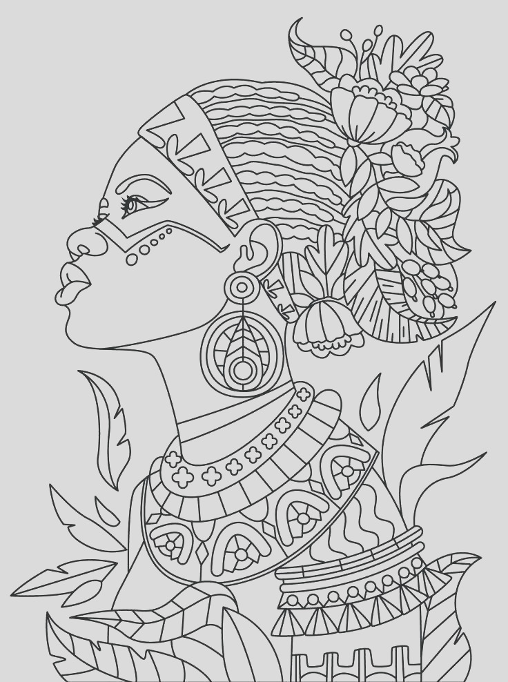 african safari coloring pages