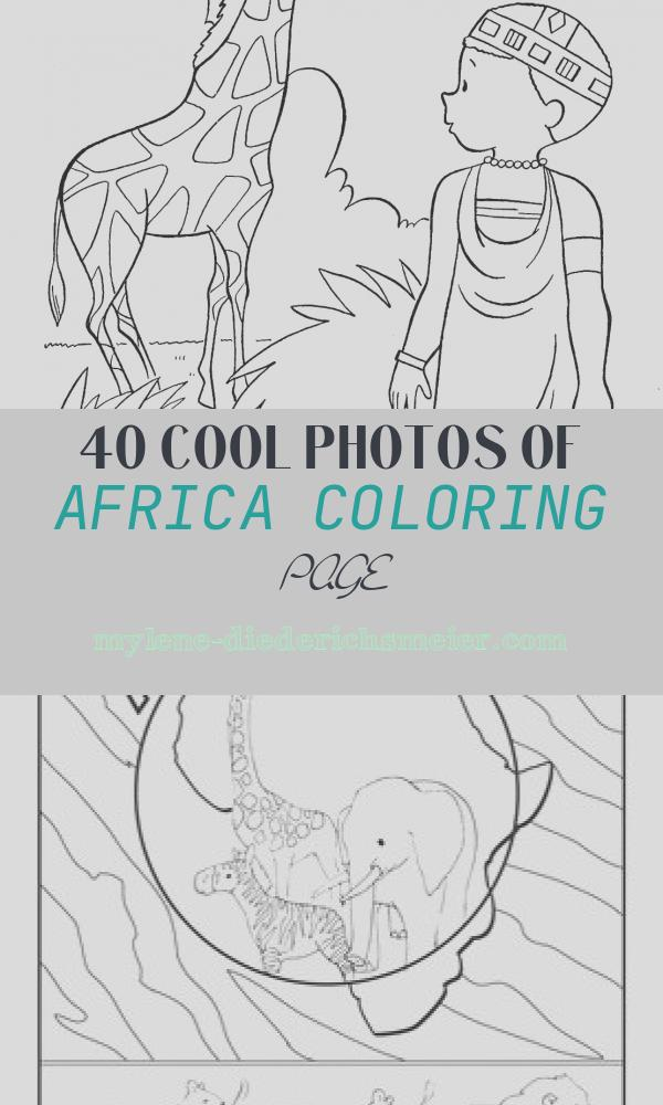 Africa Coloring Page Lovely Children Of Other Lands 1954 — Australia New Zealand