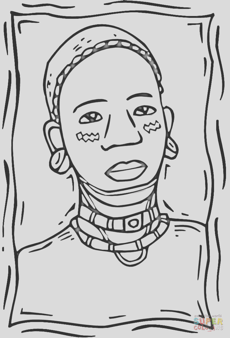 african american woman drawing
