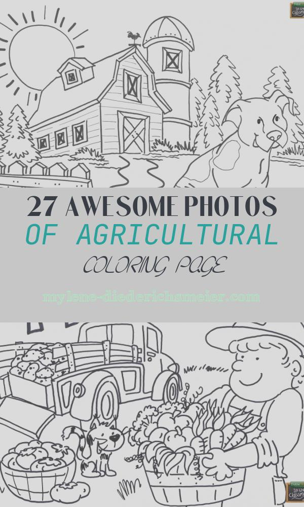 Agricultural Coloring Page Luxury Agriculture Coloring Pages