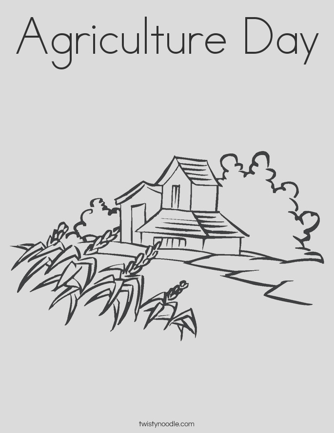 agriculture day 2 coloring page