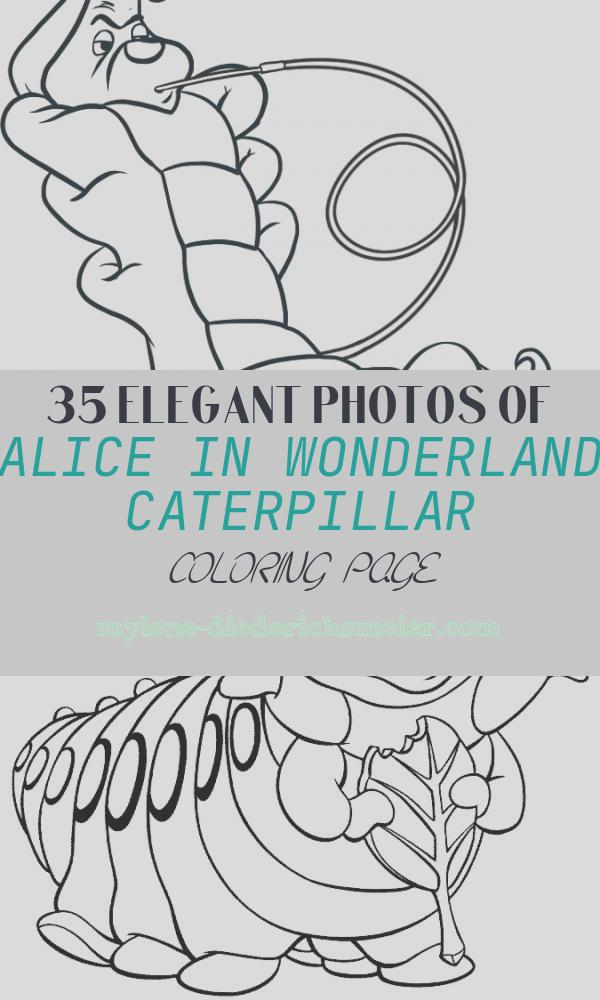 Alice In Wonderland Caterpillar Coloring Page Unique Alice In Wonderland Characters Coloring Pages