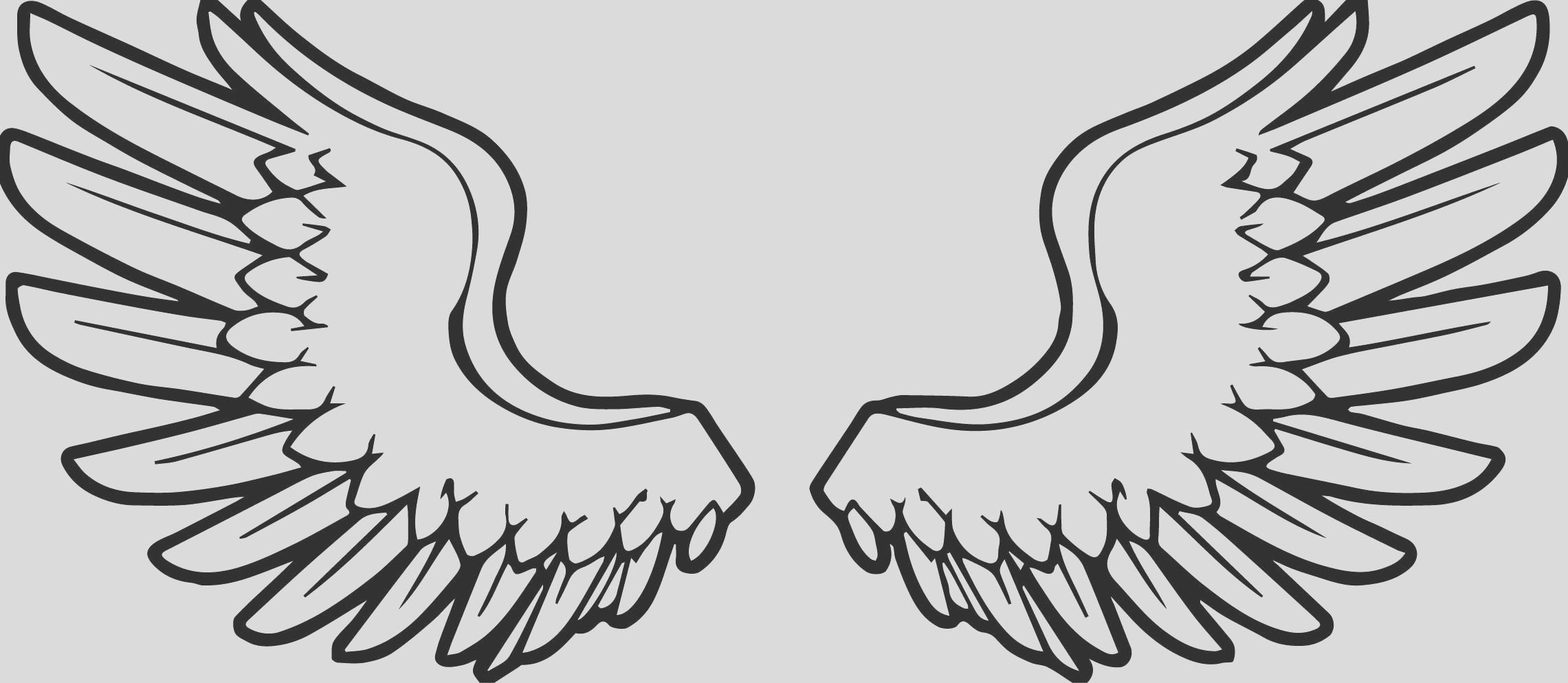 coloring pages angel wings