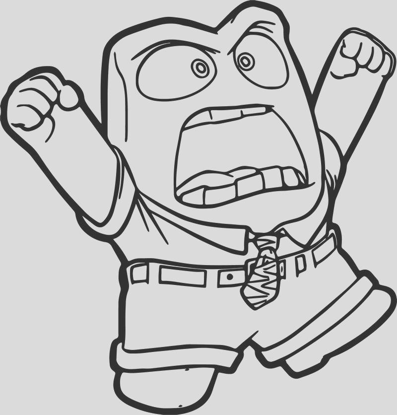 very angry anger coloring pages