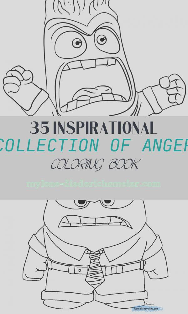 Anger Coloring Book Lovely Inside Out Anger Coloring Page