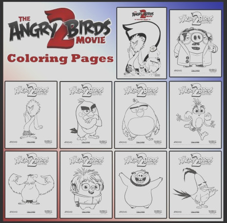 angry birds movie 2 printable activities and crafts