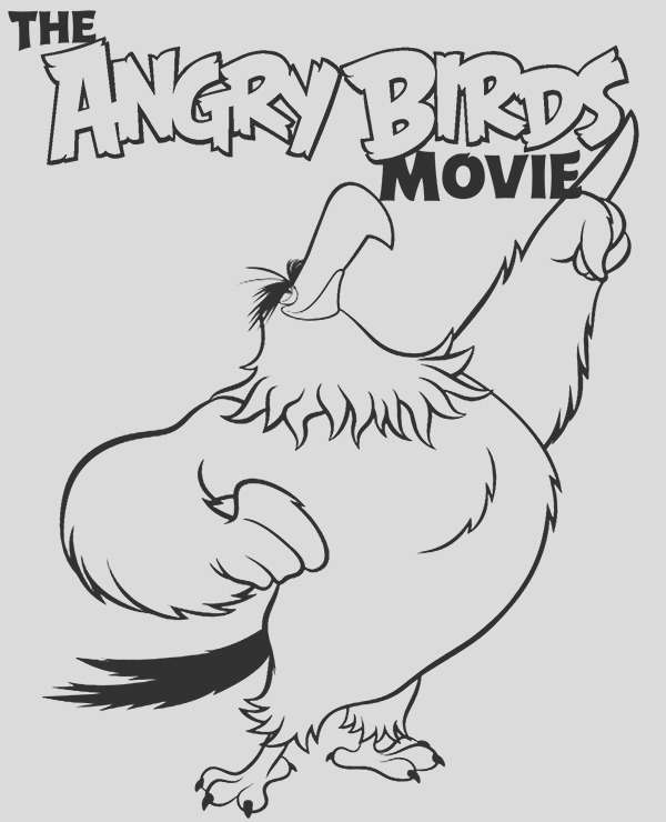 mighty eagle free coloring page