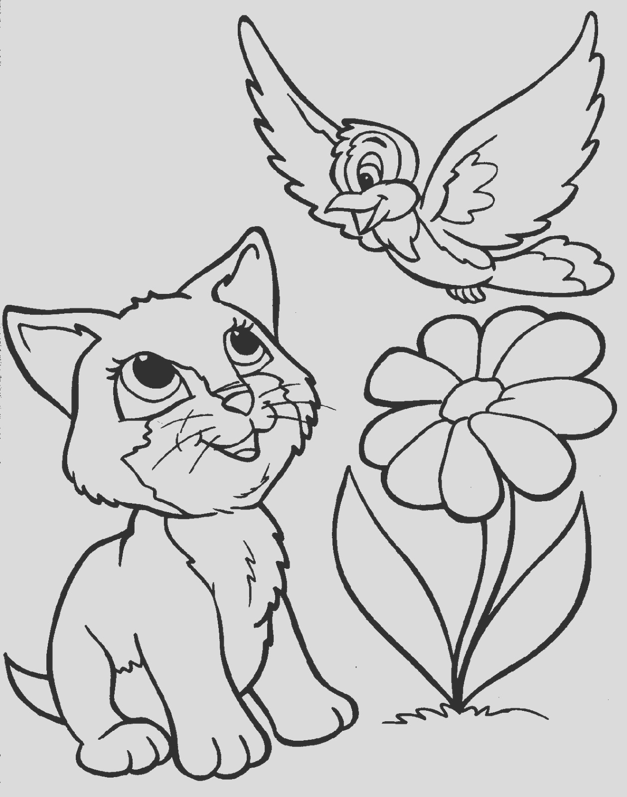 animals coloring pages 17