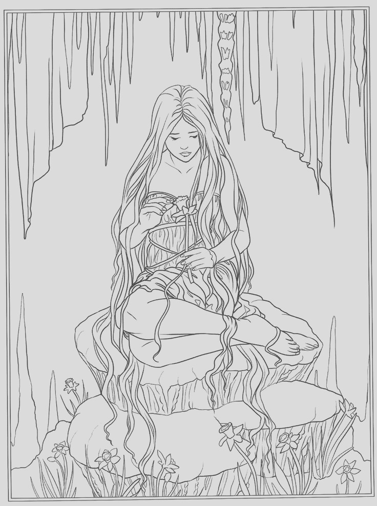 coloring pages anne stokes sketch templates