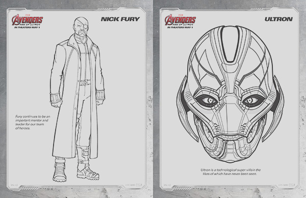 free kids printables marvel the avengers age of ultron coloring pages