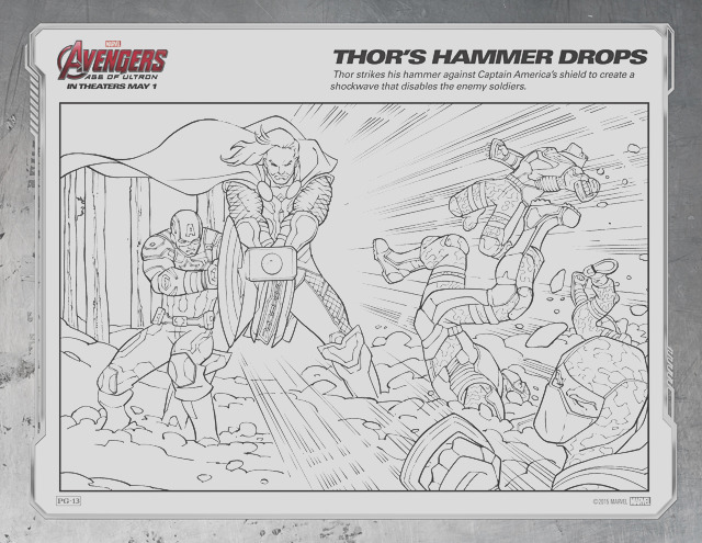 avengers 2 coloring pages avengers ageofultron