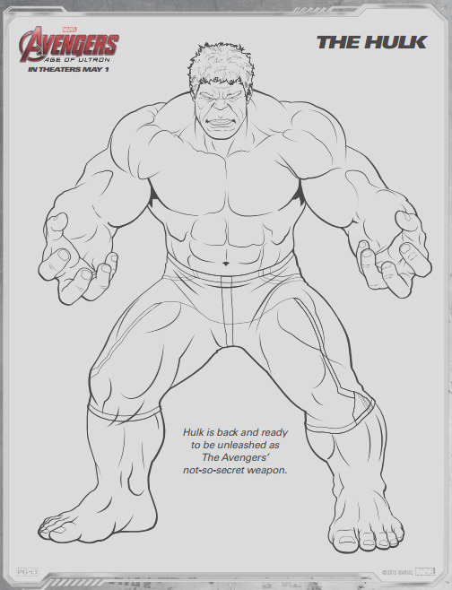 avengers age of ultron free printable coloring pages 2