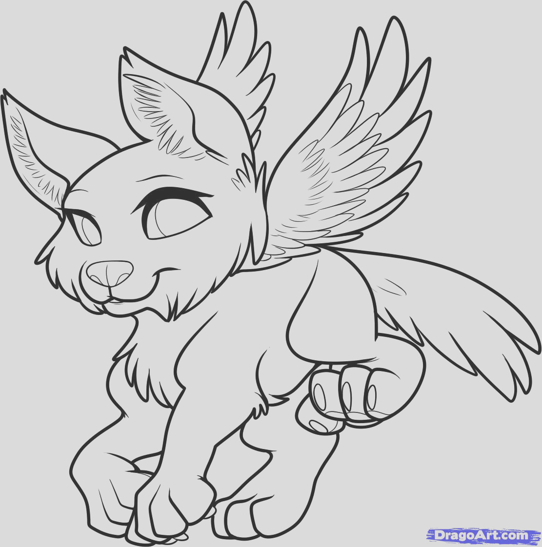 wolf cub coloring pages