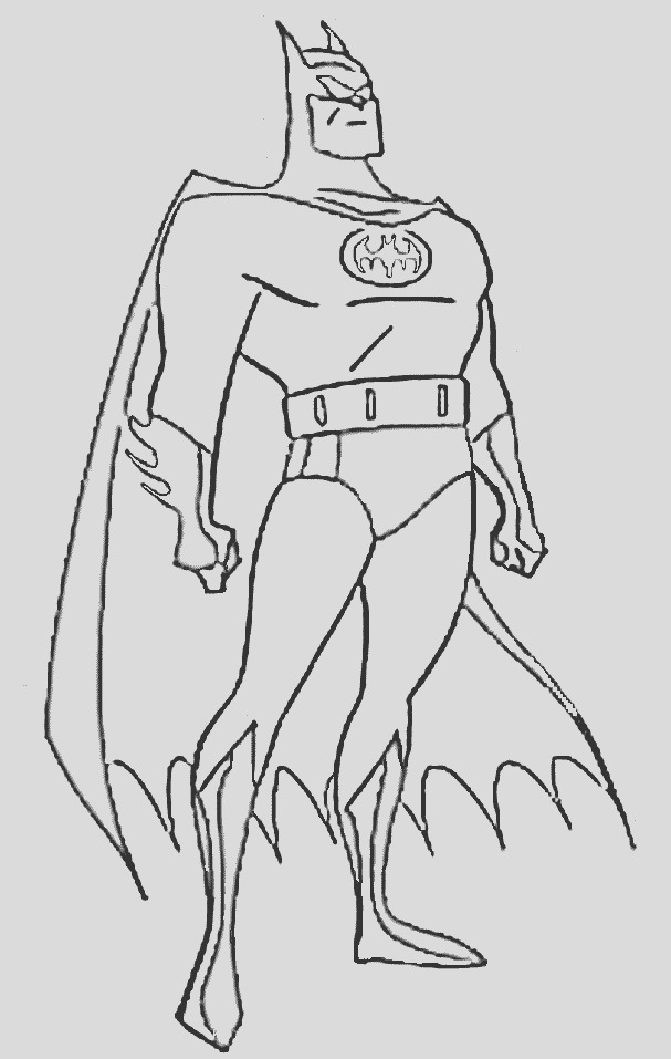 mickey mouse batman coloring pages