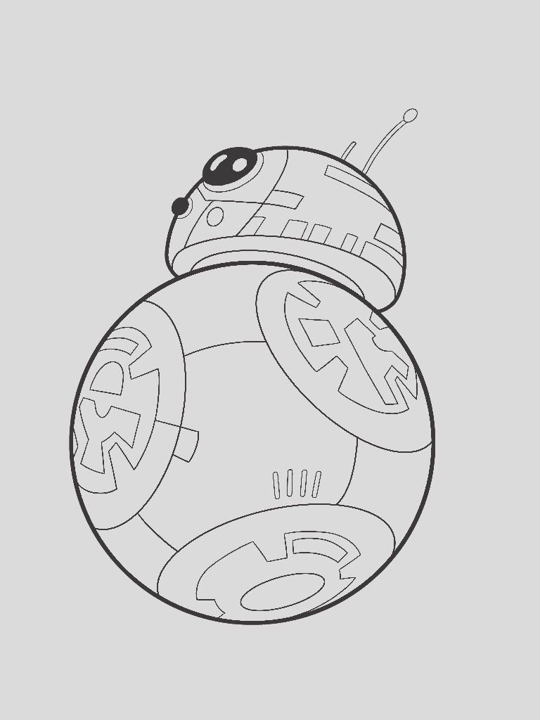 bb 8 coloring pages