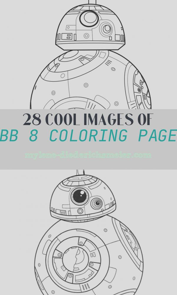 Bb 8 Coloring Page Unique Bb 8 the force Awakens Coloring Pages Hellokids