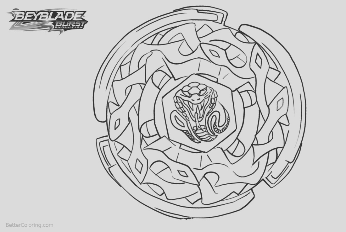 beyblade burst coloring pages lineart
