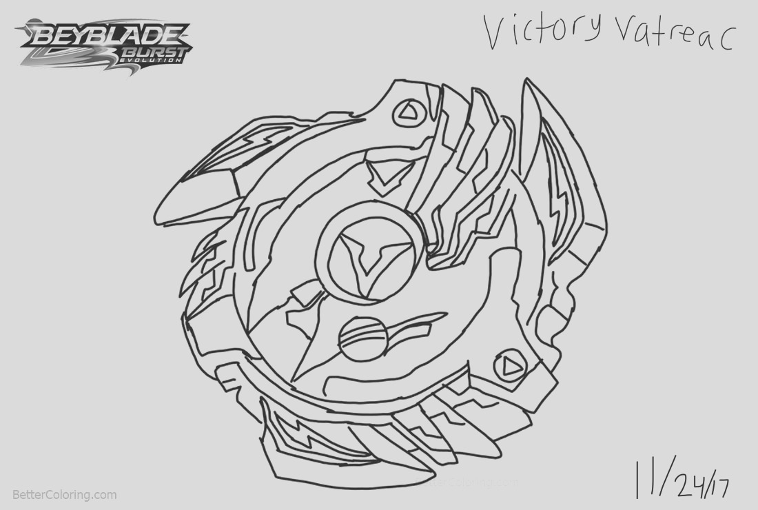 beyblade burst coloring pages fan art drawing by taylorliufilmsart